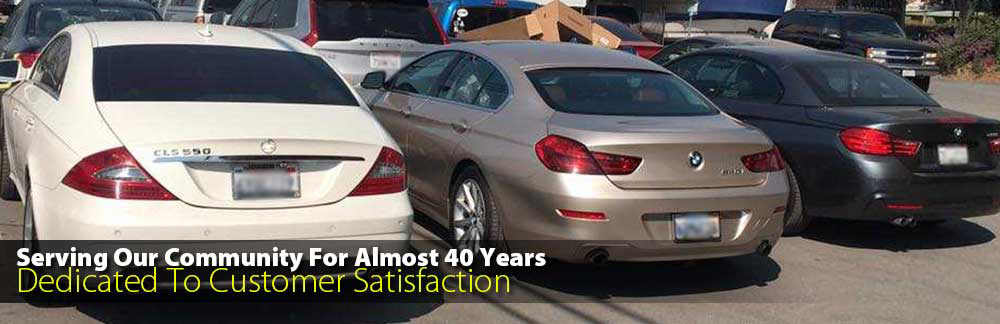 Serving Our Community for Almost 40 Years - Dedicated to Customer Satisfaction